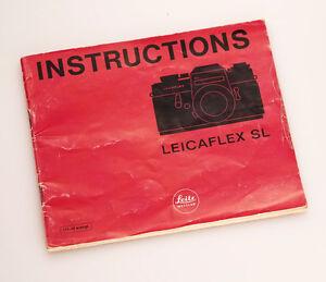 Leicaflex SL Manual