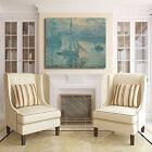 Monet alba design quadro stampa tela dipinto telaio arredo casa