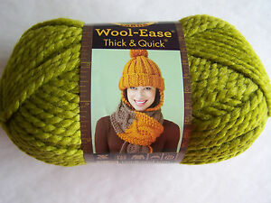 Lion Brand Wool-Ease Thick & Quick Yarn 1 SK Sel Color   640