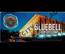 2012 $1 Bluebell Counterstamp C MM Wheat Sheaf Dollar Unc Coin