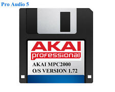 Akai MPC2000 Operating System on Floppy Disk Version 1.72