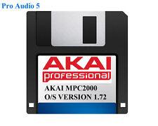 AKAI MPC2000 sistema operativo su floppy disk versione 1,72