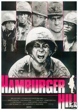Hamburger Hill vintage movie poster print