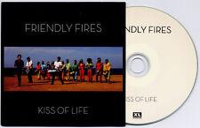 FRIENDLY FIRES Kiss Of Life 2009 UK 1-trk promo test CD