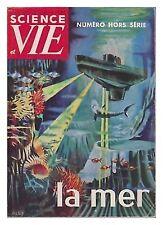SCIENCE ET VIE    HS  51 LA MER   1960
