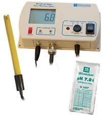Milwaukee MC122 pH Smart Controller CO2 Monitor Aquarium Tester w/ Cal. Solution