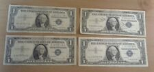 Lot of Four 1957A $1 Silver Certificates