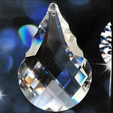 1x Clear Crystal Glass Chandelier Light Ball Prisms Suncatcher Drop Pendant 50mm