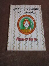 Hickory Farms Vtg Cookbook Collectible Recipes 1970's Apple Cheddar Crumble MORE