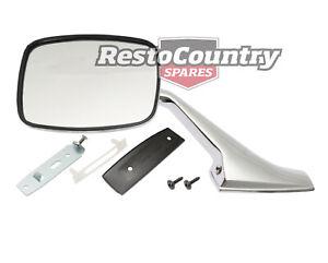 Holden Gemini Door Mirror + Stalk + Fitting Kit RIGHT TX TC TD TE TF TG
