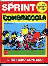 ALBI SPRINT # LA COMBRICCOLA # Anno II N.8 Agosto 1971 # Corriere dei Piccoli