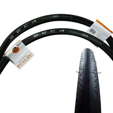 Serfas Seca 27x1.25 Road Bicycle Tire - Black - 2 Pack - 130 PSI - Clincher