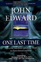 ONE LAST TIME by John Edward FREE SHIPPING paperback book psychic medium