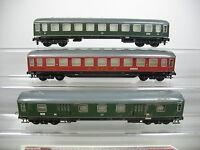 AN855-1# 3x Trix Express H0 Personenwagen etc: 105 901+11803 Esn DB+WR 4 üm DSG