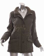 Blue Willi's Size 40 8 NWT Khaki Green Quilted Jacket
