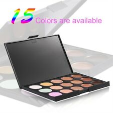 15 Color Makeup Face Cream Contour Kit Concealer Palette Bronzer Highlighter Set