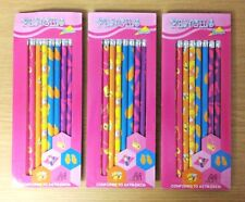 "Lot of 24 (3 Packs of 8) Girls ""Fashion"" Pencils - Brand New"
