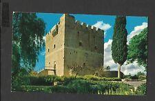John Hinde Colour Postcard Kolossi Castle a former Crusader stronghold Cyprus