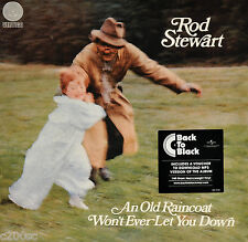 ROD STEWART - AN OLD RAINCOAT WON'T EVER LET YOU DOWN, 2015 EU 180G LP + MP3 NEW