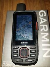 Garmin GPSMAP 66i GPS and Satellite Communicator BUNDLE (SD, Mounts, case)