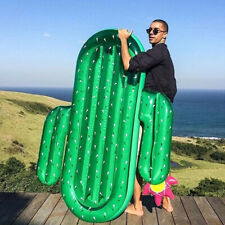 2017 Summer Water Sport Buoy Giant Inflatable Cactus Floating Row Swim Rings