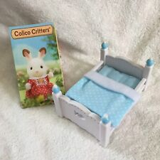 New Calico Critters Blue Baby Bed Bedding Boy Bunk Replacement Crib Nursery