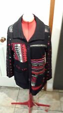 Pause Cafe Black/multi coloured Jacket/cardi French designer Brand new with tags