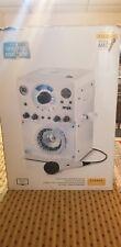 The Singing Machine SML-385W Disco Light Karaoke System Top loading CDG Player