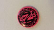 Zounds anarcho punk post-punk music artist buttons vintage SMALL BUTTON 1