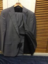 "VAN KOLLEM MENS Two Pieces Regular WOOL Blend Suit SIZE U.K 44""R/ 36""R NEW """