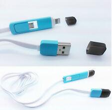 5.1cm 1 Micro USB Lightning Chargeur Câble Pour iPhone 5 6 Samsung HTC LG