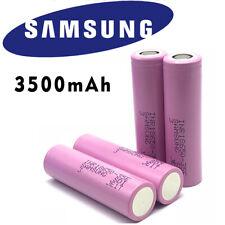 x2 Samsung INR 18650 35E 3500mAh Rechargeable Battery 3.7v High Drain