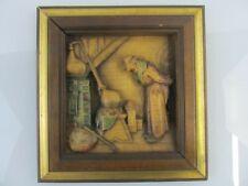 Anri Holzrelief Carl Spitzweg Der Alchimist