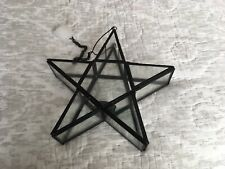 Hanging Or Freestanding Star T - Light Holder