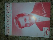 Why Baby Why by Pat Boone Sheet Music written by Luther Dixon, Larry Harrison
