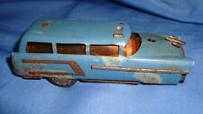 Old Vintage Small size Winding Schuco Co Toy Car from Western Germany 1950