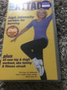 Rosemary Conley Fat Attack Workout VHS Video Retro