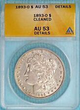 1893-O AU-53 Details Morgan Silver Dollar $1