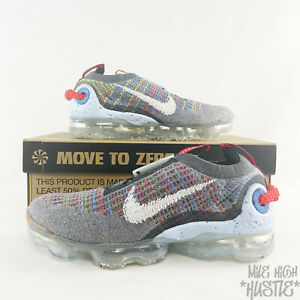 Nike Air VaporMax Women's Size 8 Men's Size 6.5 2020 Flyknit 50% Recycled