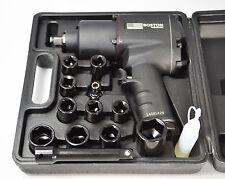 1/2 DRIVE HEAVY DUTY PNEUMATIC AIR RACHET/IMPACT/RATTLE GUN + SOCKETS (RPW300)