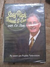 New 2008 Ed Slott DVD(as seen on Public TV) Stay Rich Forever & Ever..Free Ship