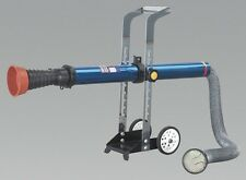 Sealey EFS07 Exhaust Fume Extractor With 3M Ducting Tool Garage Equipment