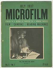 W Wadsworth WOOD / Microfilm Devoted to Record of Progress in Growing 1st 1937