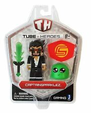 Tube Heroes 3-inch Captain Sparklez With Accessory