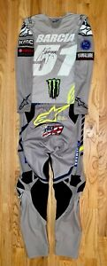 Justin Barcia Autographed 2020 Jersey & Pants with Nicky Hayden Butt Patch