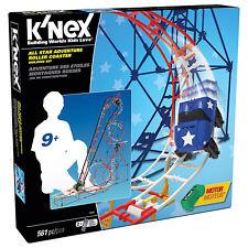KNEX 59440 ALL STAR ADVENTURE COASTER Achterbahn Bausatz Bausteine