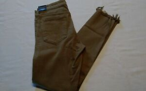 Lucky Brand  Ava Skinny Jeans  Wmns 2/26  Lucky You  Mid Rise  Slim  Camel  NWT