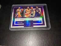 KOBE BRYANT Panini FACTIONS W/ SHAQUILLE O'NEAL REFRACTOR SP RARE  LAKERS