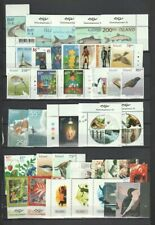 Iceland Early 2000's Page of MNH Sets, Part Sets CV $92.95