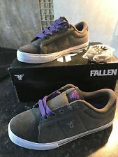 Fallen - Kids Skate Shoes - Bomber Charcoal - UK 3 (US 4), slight seconds